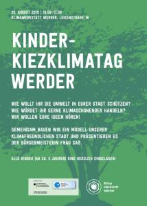 Kiezklimatag für Kinder @ Klimawerkstatt Werder