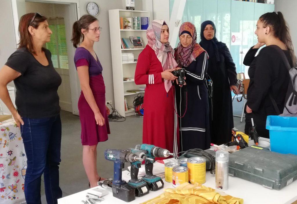 Al Walajeh trifft Klimawerkstatt Werder Vorstellungsrunde