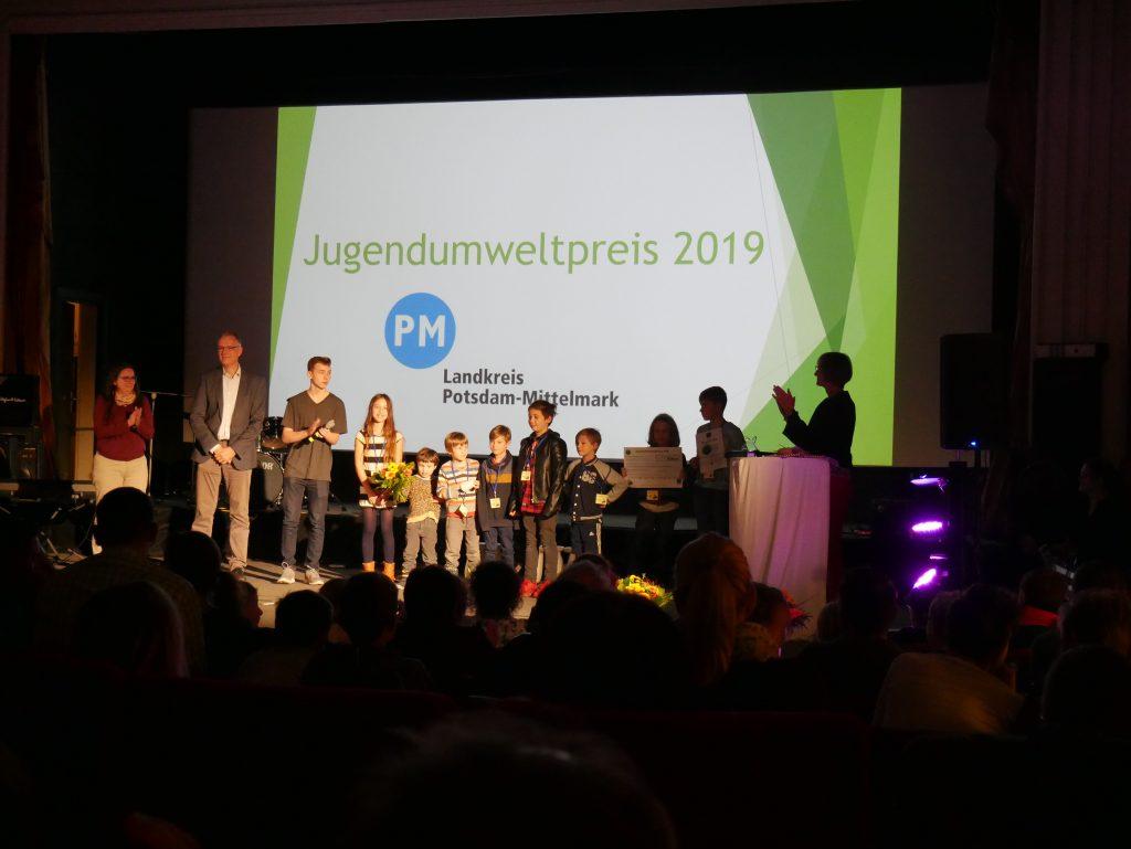 Preisverleihung des Jugendumweltpreises PM 2019 an die Klimateure